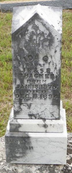 Ida C Thacker