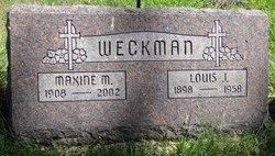Maxine Maude <I>Teller</I> Weckman