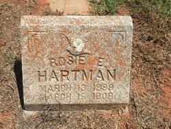 Rosie Edsel Hartman