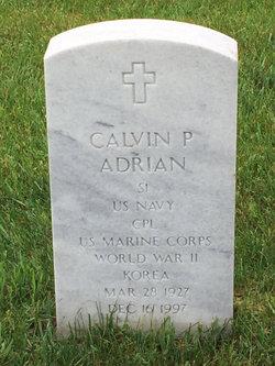 Calvin P Adrian