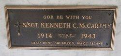Sgt Kenneth C McCarthy