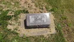 Dorine <I>Fox</I> Adams