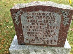 Louisa C <I>Hines</I> Dodson