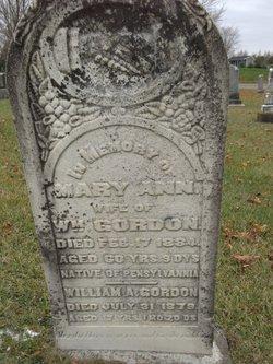 Mary Ann Gordon