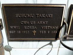 Susumu Takaki