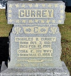 Cora Elizabeth <I>Wiseman</I> Currey