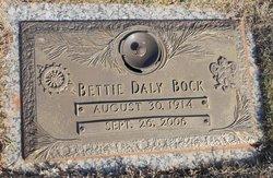 Bettie <I>Wall</I> Bock
