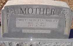 Emily Alberta <I>Davis</I> Bailiff