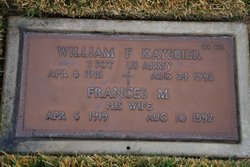SSGT William F Kaysbier