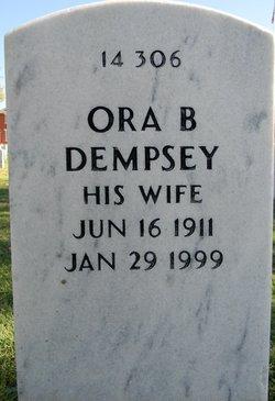 Ora B Dempsey