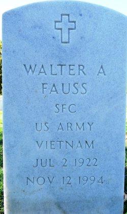 Walter A Fauss