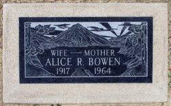 Alice Rheua <I>Martindale</I> Bowen