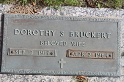 Dorothy S Bruckert