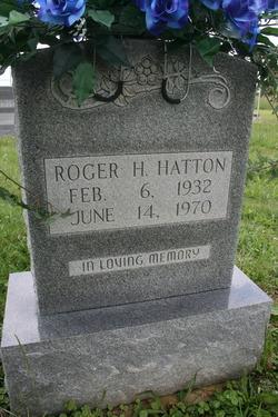 Roger Harold Hatton