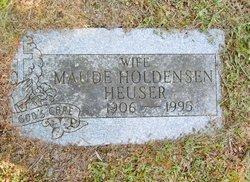 Maude L <I>Holdensen</I> Heuser