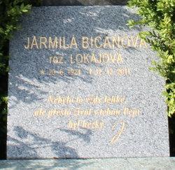 Jarmila <I>Lokajova</I> Bicanova
