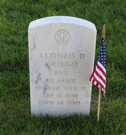Alonzo D Griego