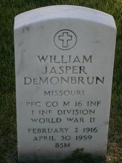 William Jasper Demonbrun