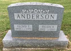 Helen A. <I>Trout</I> Anderson