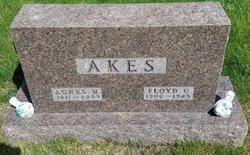 Agnes Marie <I>Wright</I> Akes