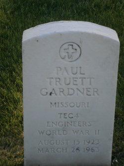 Paul Truett Gardner