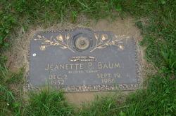 "Jeanette Pearl ""Candy"" <I>Hardy</I> Baum"