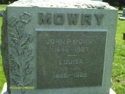 Mrs Louise <I>Leber</I> Mowry