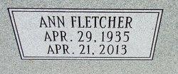 Margaret Ann <I>Fletcher</I> Lee