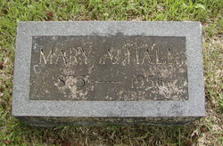 "Mary Ann ""Molly"" <I>Baker</I> Hall"