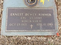 Ernest Dewey Rimmer