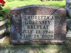 Lauretta June <I>Guernsey</I> Balyeat