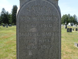 Mary Elizabeth <I>Smith</I> Van Wagenen