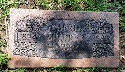 Carrie Mildred <I>Shekell</I> Howell