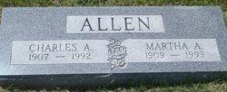 Martha A. <I>Zeller</I> Allen