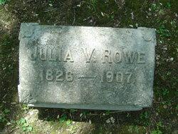 Julia <I>Vache</I> Rowe