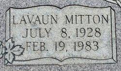 Lavaun <I>Mitton</I> Miller