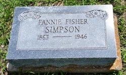Fannie <I>Fisher</I> Simpson