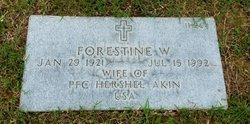 Forestine <I>Waldron</I> Akin
