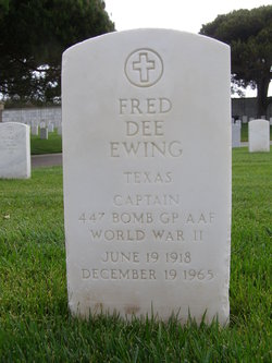 Fred Dee Ewing