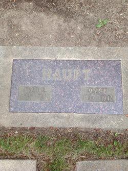 Fred E. Haupt