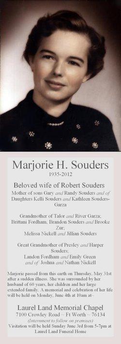 Marjorie Hellen <I>Collins</I> Souders