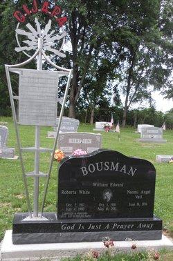 Roberta <I>White</I> Bousman