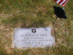 2LT Clayton E Hale