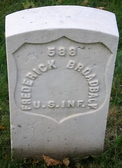 PVT Frederick Broadback