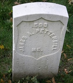 Pvt James A. Pettengill