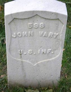 PVT John Vary