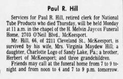 Paul R Hill