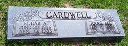 Annie Lee <I>Herin</I> Cardwell