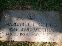 Margaret <I>Joyce</I> Balling