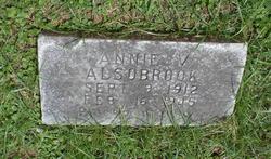 Annie V Alsobrook
